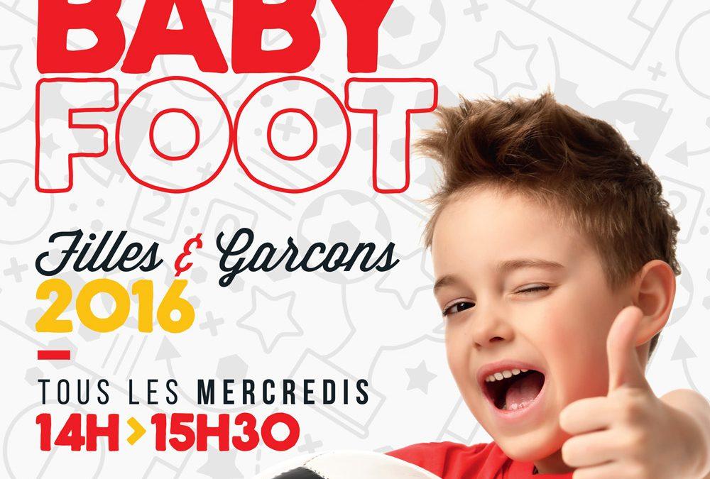 Du Foot pour les enfants de 4 ans nés en 2016!!