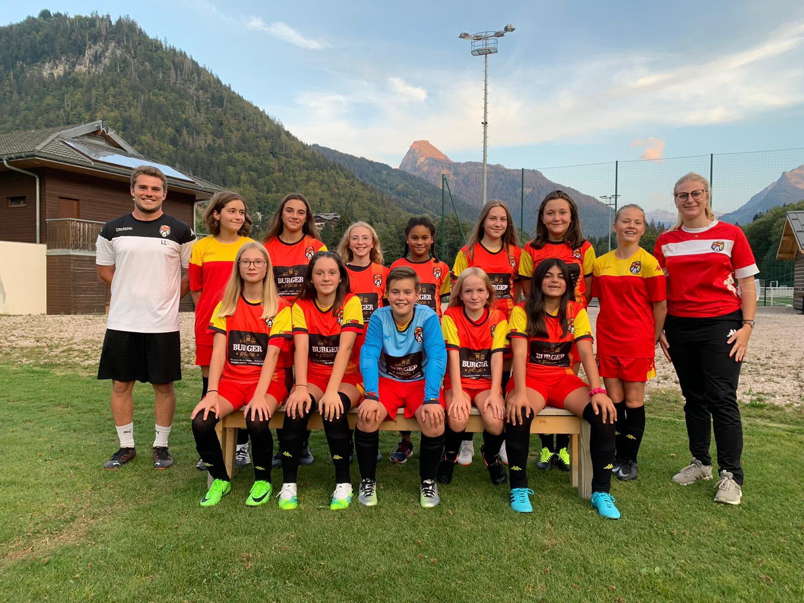 U15 Féminines SCMVA - 2020-2021