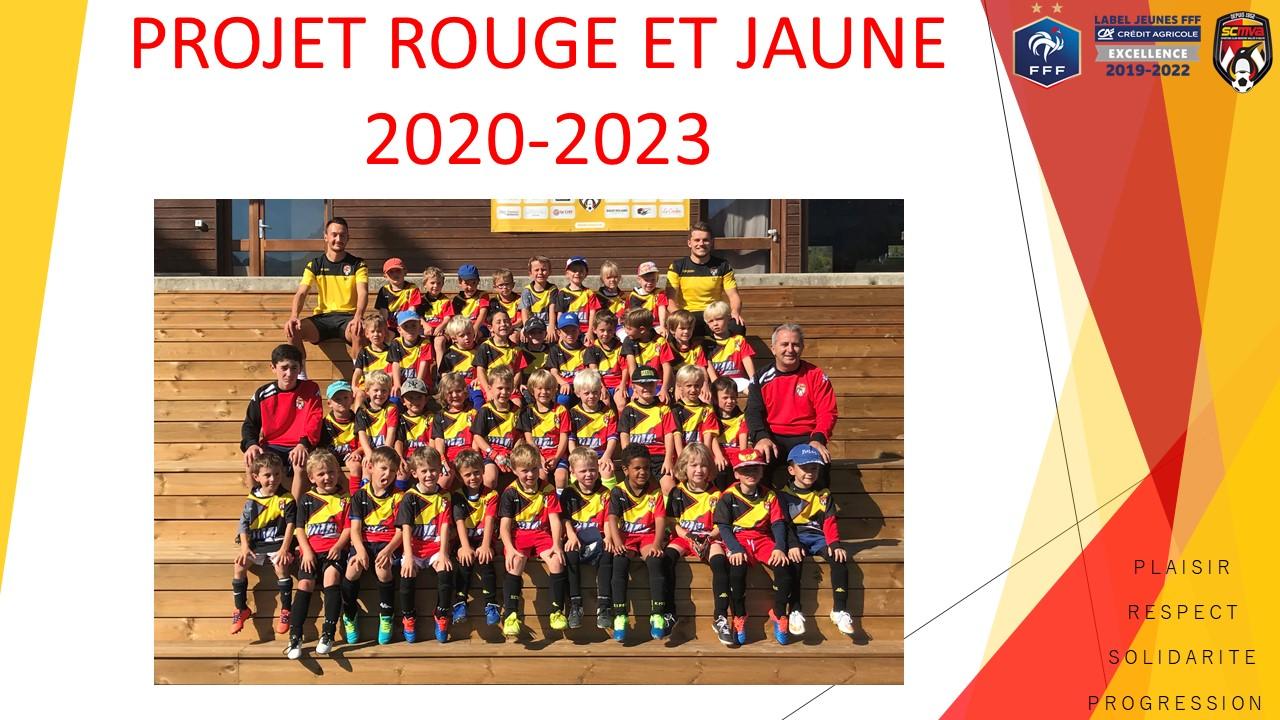 Projet Rouge et Jaune 2023