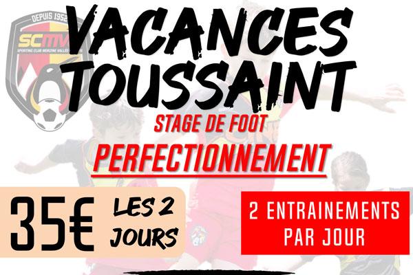 Stages Vacances de Toussaint