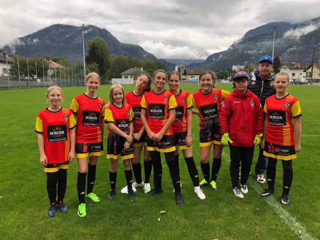U15 Féminines à Cluses FC