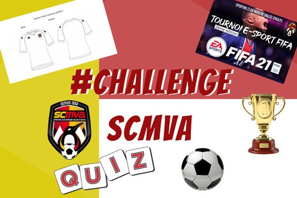 Le #CHALLENGE SCMVA