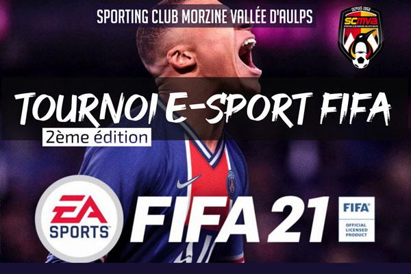 Tournoi E-Foot FIFA 21