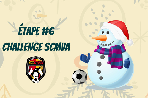 #6 Challenge SCMVA – Le Bonhomme de Neige